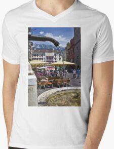 innsbruck Mens V-Neck T-Shirt