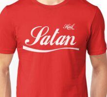 Hail Satan (white) Unisex T-Shirt