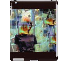 Groovy Grunge Gal iPad Case/Skin