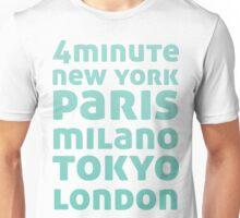 4Minute Crazy (Blue Ver) Unisex T-Shirt