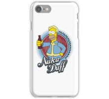 Mmmm Nuka Duff iPhone Case/Skin