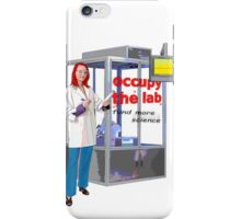 occupy the lab iPhone Case/Skin