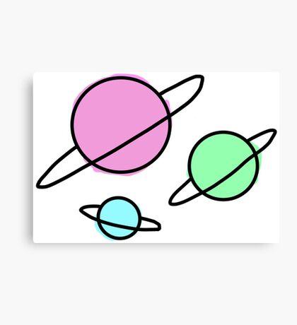 space Canvas Print
