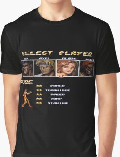 Streets of Rage 2 – Select Blaze Graphic T-Shirt