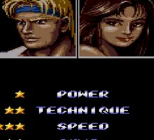 Streets of Rage 2 – Select Skate Sticker