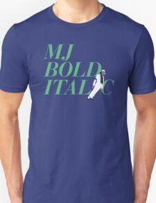 MJ Bold Italic T-Shirt