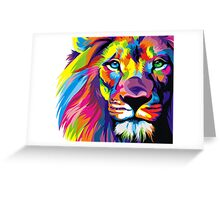 Lion Pride Greeting Card