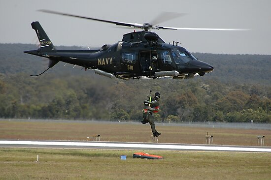 Air Sea Rescue Demonstration @ Nowra Airshow 2008 by muz2142