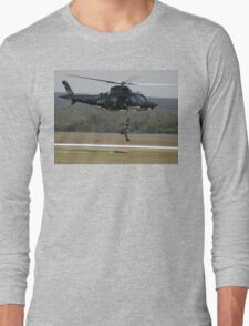 Air Sea Rescue Demonstration @ Nowra Airshow 2008 Long Sleeve T-Shirt