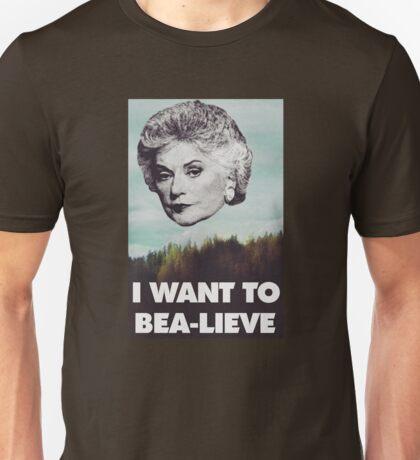 Bea Arthur - I want to Bea-lieve Unisex T-Shirt