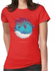 Punk Fish Womens Fitted T-Shirt