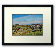 His Kingdom Framed Print