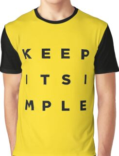 Keep it Simple Graphic T-Shirt