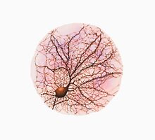 Dendritic tree and spines of an hippocampal neuron - watercolour - Pink Unisex T-Shirt