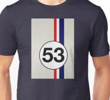 Herbie 53 Racing stripes Unisex T-Shirt