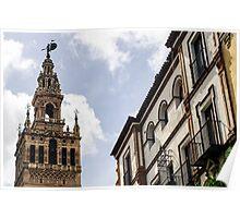 Seville the Giralda  Poster