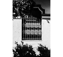 A window in white  Photographic Print