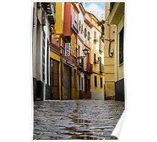 Streets of Seville Spain Poster
