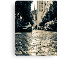 A rainy day in Seville, Spain  Canvas Print
