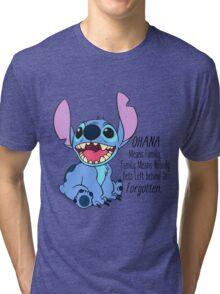 lilo and stitch  Tri-blend T-Shirt