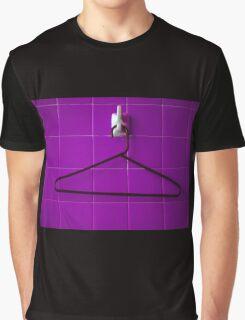 Purple Tile Wall Hanger Graphic T-Shirt
