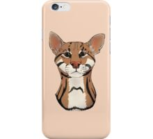 Ocelot - Bust iPhone Case/Skin