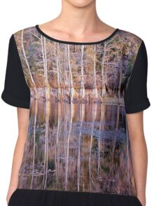 Mirror Mirror on The Land Chiffon Top