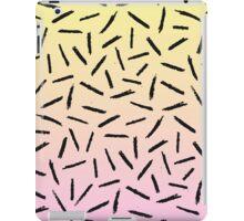 Candy Gradient Scribble Confetti iPad Case/Skin