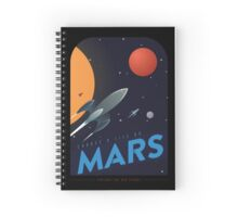 Life on Mars Spiral Notebook