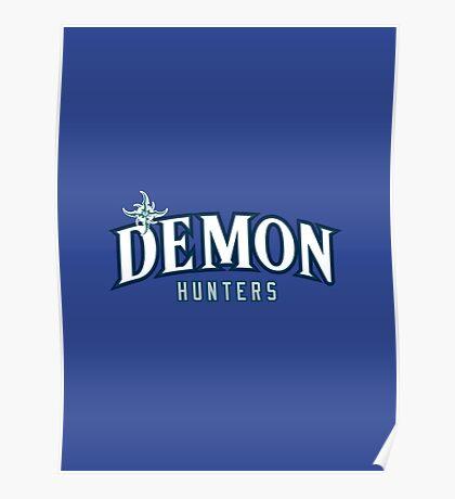 Demon Hunters (alternate) - WoW Baseball Poster