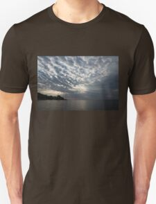 Cirrocumulus Clouds and Sunbeams Unisex T-Shirt