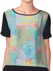 Rural Sunrise Chiffon Top