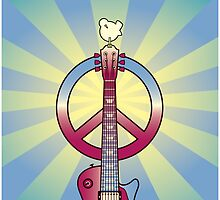 Tribute to Woodstock by Lisann