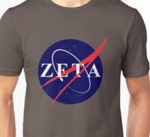 zeta outta this world Unisex T-Shirt