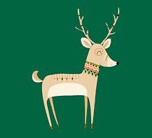 Cartoon Animals Tribal Deer Forest Animals Unisex T-Shirt