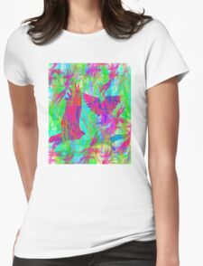 Birds in Flight 2 Womens Fitted T-Shirt