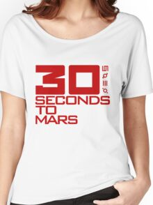 30 seconds to mars  Women's Relaxed Fit T-Shirt