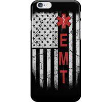 American EMT Flag TShirts & Hoodies iPhone Case/Skin