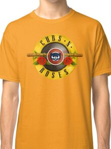 Cubs N Roses Classic T-Shirt
