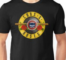 Cubs N Roses Unisex T-Shirt
