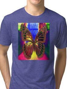 Angel Butterfly Tri-blend T-Shirt