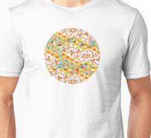 Pink Bonbon Hexagons Unisex T-Shirt