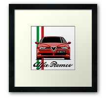 Alfa Romeo 156 GTA (red) Framed Print