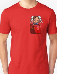 Street Fighter Pocket Pals - #3 Chun Li Unisex T-Shirt