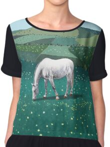 The White Horse of Alfriston Chiffon Top
