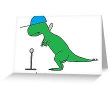 Tee-Rex Greeting Card