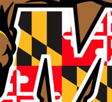 University of Maryland Terps Sticker