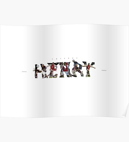Thierry Henry T-Shirt and more Poster