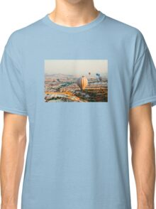 Flying hot air balloon over the Cappadocia Classic T-Shirt