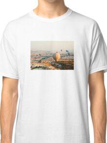 Flying hot air balloon over the Cappadocia Classic T-Shirt